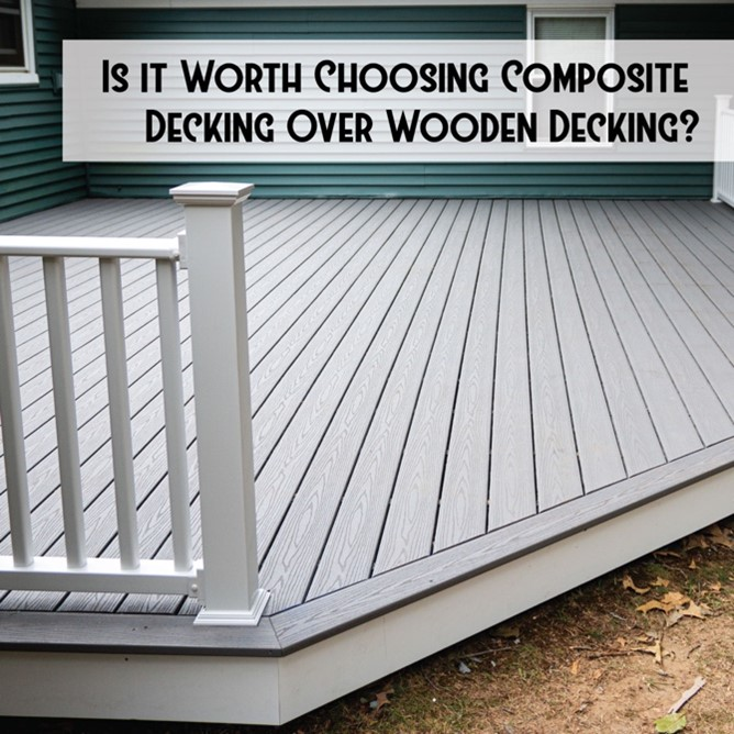 Composite Decking Over Wooden Decking