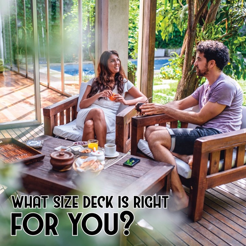 Figuring Out Deck Size and Height