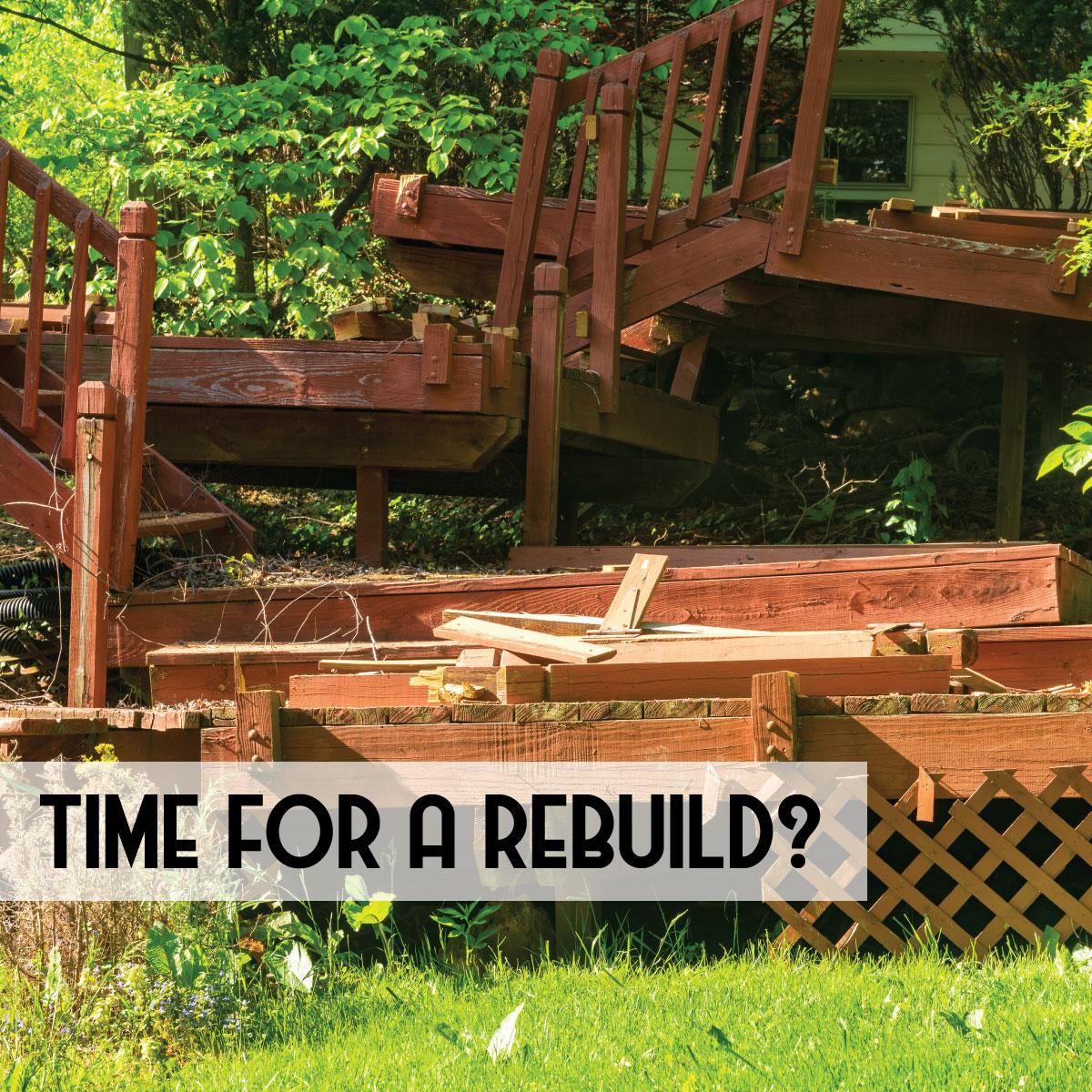 Revitalize a Deck